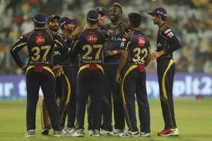 Andre Russell's 12-ball 41 helped Kolkata Knight Riders crush Delhi Daredevils by 71 runs in an IPL 2018 clash at the Eden Gardens on Monday.