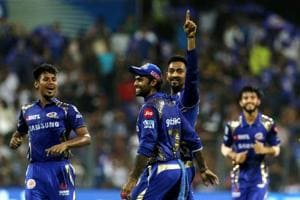 Krunal Pandya's three wickets and Rohit Sharma's 94 helped Mumbai Indians beat Royal Challengers Bangalore by 46 runs at the Wankhede stadium. Get highlights of Mumbai Indians vs Royal Challengers Bangalore here.