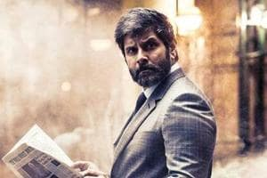 Vinayagan to play the antagonist in Vikram's Dhruva Natchathiram