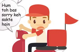 Delhiites fight and that's the delivery guys' plight! They share their...