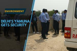 Rakshak Security service has one task – to save the Yamuna, on orders...