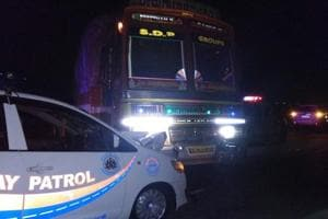 Union minister Hegde claims attempt on his life as truck hits escort...