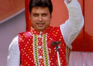 Tripura CM defends internet during Mahabharat comment, blasts critics
