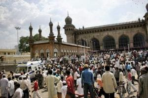Nine people were killed in the Mecca Masjid blast, which occurred in the Old City area of Hyderabad on May 18, 2007. All the five accused in the case, including Swami Aseemanand, were acquitted by special NIA judge K Ravinder Reddy on Monday.