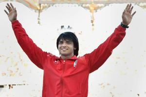 Neeraj Chopra the star as athletes land back from 2018 Commonwealth...