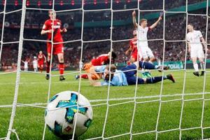 Bundesliga winners Bayern Munich rout Bayer Leverkusen to reach German...