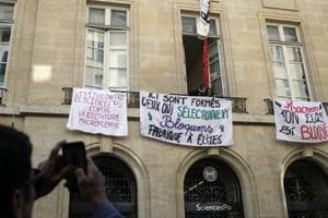 Students' protests, train strikes against reforms keep Macron on toes