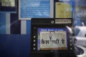 As ATMs run dry, SBI Research pegs cash shortfall at Rs 70,000 crore