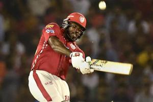 Kings XI Punjab's Chris Gayle would be expected to fire against Sunrisers Hyderabad in their Indian Premier League (IPL) 2018 clash.