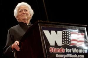 Barbara Bush, former US first lady dead at 92: Family