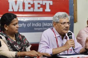 Yechury, Karat factions trade charges at CPI(M) party congress amid...