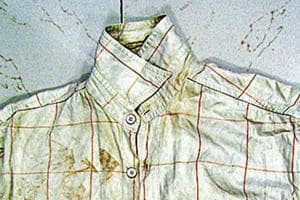 A shirt recovered from the blast scene and a jeans were never handed over to the Central Bureau of Investigation or the National Investigation Agency.