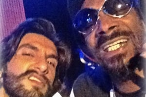 Snoop Dogg is not in Gully Boy, but here's a pic of him and Ranveer...