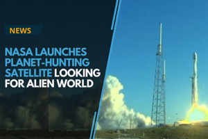 NASA on Wednesday, 18th April 2018 blasted off a $337 million...