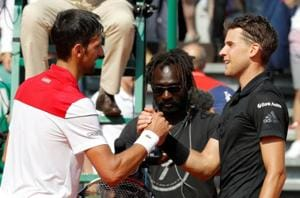 Dominic Thiem stuns Novak Djokovic to reach Monte Carlo quarter-finals