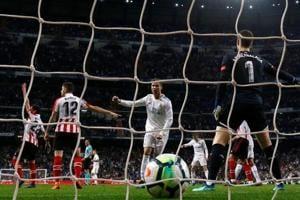 Cristiano Ronaldo backheel earns Real Madrid draw vs Athletic Bilbao...