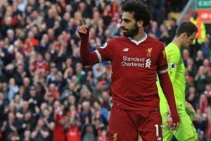 Liverpool's Mohamed Salah seeks silver lining with Golden Boot in...