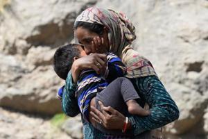 Photos: Jammu and Kashmir's Bakarwal nomads migrate early after...