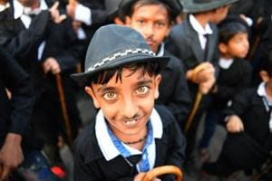 Photos: Celebrating Charlie Chaplin's 129th birthday in Gujarat
