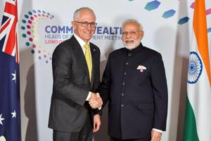 Modi holds bilateral talks with several world leaders on CHOGM...