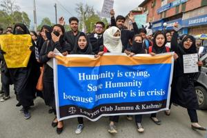 Kathua rape protests hurting image of state says J-K govt
