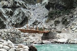 Bridges built to help stranded villagers reach Vyans valley