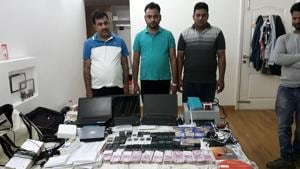 Ghaziabad: Task force busts IPL betting syndicate, four arrested with...