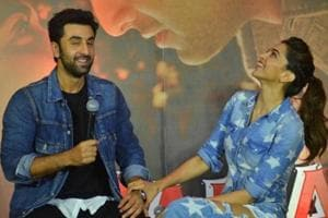 It's always wonderful to walk with Deepika Padukone, says Ranbir...