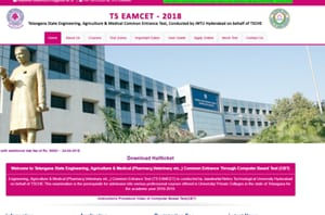 TS EAMCET hall ticket 2018 released at eamcet.tsche.ac.in