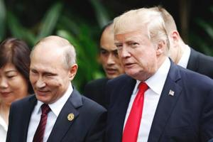 Russia says Donald Trump invited Vladimir Putin to US during phone...