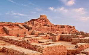 Enduring mystery: Mohenjo Daro, one of many large pieces in the puzzle that is Indian ancestry.