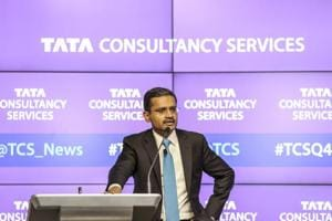 TCS shares jump 7%, market cap soars Rs 41,301 crore post Q4 earnings