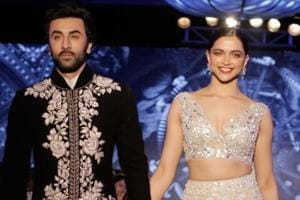 Mijwan 2018: Deepika Padukone's sparkle on sparkle Manish Malhotra lehenga is screaming enchanted princess to us. (IANS)