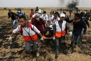 Palestinian shot dead by Israeli forces in Gaza; 35 killed since March...