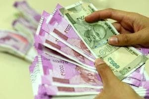 Rupee cracks below 66 mark, falls 25 paise against US dollar