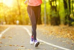 Brisk walking will keep your heart in good shape, prevent...