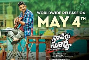 Allu Arjun's Naa Peru Surya to release on May 4