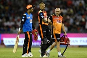 IPL 2018: Sunrisers Hyderabad's Shikhar Dhawan misses training ahead...