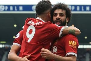 Mohamed Salah equals Premier League scoring record as Liverpool held...