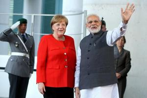 PM Modi holds talks with German Chancellor Angela Merkel