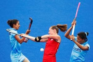 India women's hockey team were thrashed 0-6 by England in the bronze-medal match and the team finished fourth in the 2018 Commonwealth Games.
