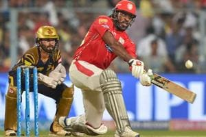 Chris Gayle guided Kings XI Punjab to victory over Kolkata Knight Riders in the IPL 2018 on Saturday.