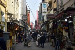 A view of Khan Market in New Delhi. APIL had sought action against restaurants in Khan Market and Connaught Place for not obtaining fire safety clearances.