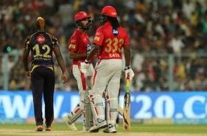 IPL 2018: Chris Gayle, KL Rahul shine up front for Kings XI Punjab in...