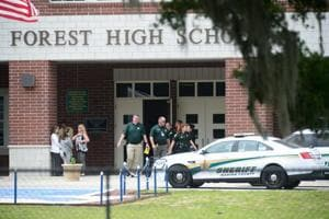Student wounded in shooting at Florida high school, gunman says...
