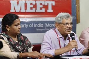 Sitaram Yechury re-elected as CPI(M) general secretary