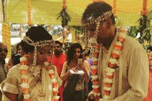 Milind Soman marries Ankita Konwar in traditional ceremony. See pics
