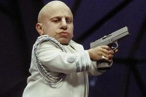 Austin Power's Mini-Me and Griphook from Harry Potter, Verne Troyer...