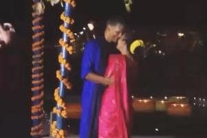 Watch Milind Soman's romantic dance with Ankita Konwar at their...