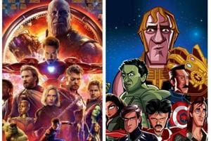 Anil Kapoor as Iron Man, Amrish Puri as Thanos? Check out Avengers as...